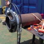 Mactech Clamshell Lathe – Pipe Cutter & Pipe Beveler