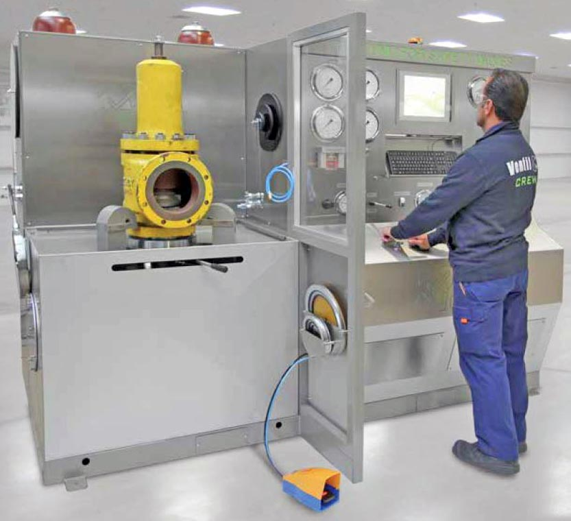 Ventil Test Units for Safety valves