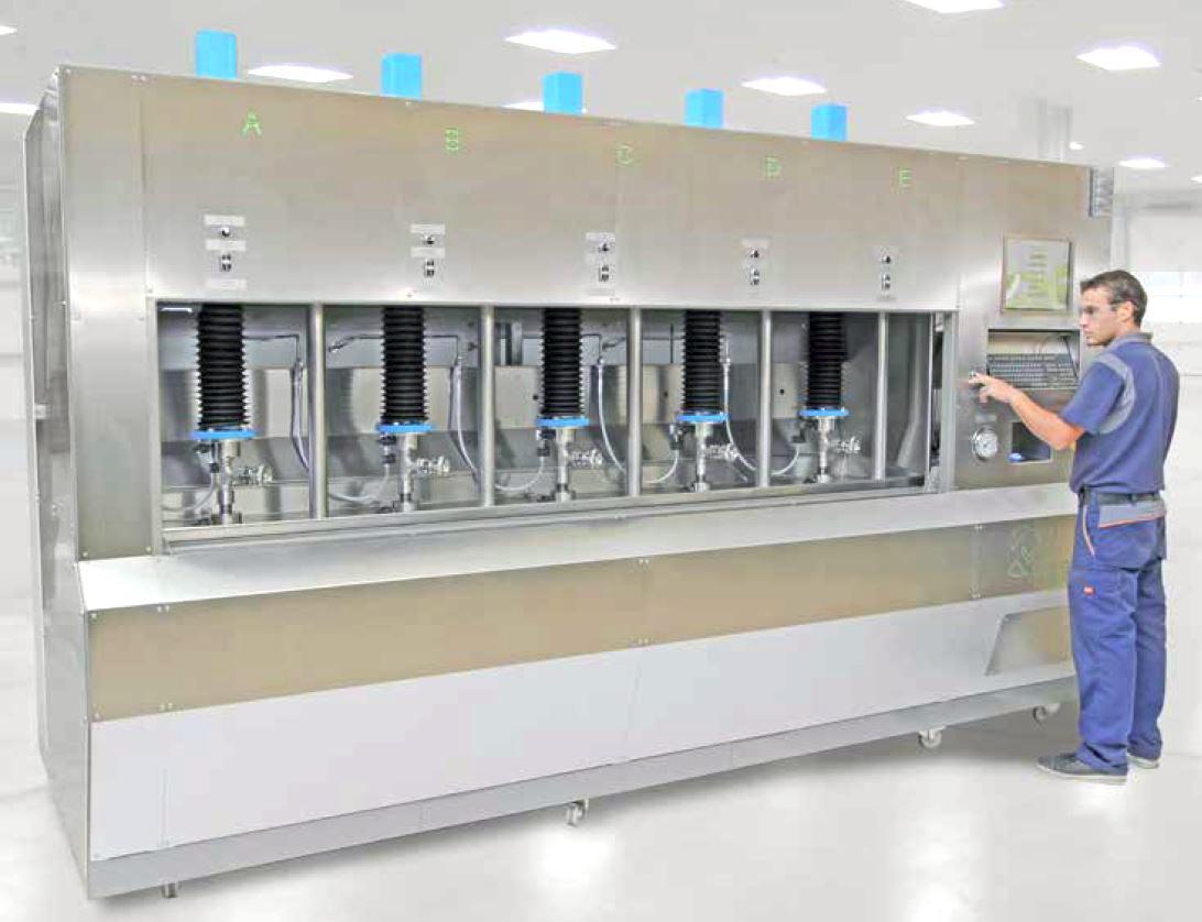 Ventil Test Units for Manufacturers
